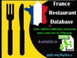 France restaurant database 148K+ in excel format 41k+ emails