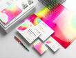 Design full stationary Business Card Letter Head Envelope