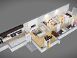 Create detailed & furnished 3D Floor Plan from 2D plan or sketch
