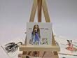 Mini portrait , watercolour & ink - The Perfect gift!