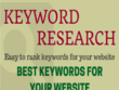 Best SEO keyword research for your website