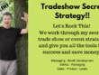Give a one hour trade show strategy session and secrets pdf
