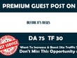 Publish a guest post on BeforeItsNews.com DA75 with Backlink