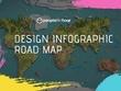 Design infographic road map