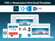 Code PSD or Any Design to HTML Responsive Email Template