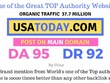 Mention your brand on Usatoday, USATODAY.com DA 95, DR92