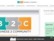 Publish a Guest Post on Business2Community, DA 81, PA 83, TF 31