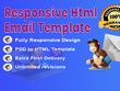 Convert PSD to responsive HTML email template/Newsletter