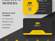 Do 2 sided premium business card design+ Source files