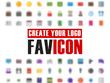 Provide favicon of your logo design