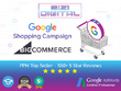 Set up Google shopping feed In Bigcommerce for  250 products