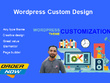 I can Do customization  for your wordpress website.