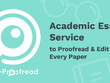 Proofread 2000 words,write academic essay or research paper
