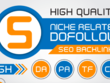 Rocket your google ranking with SEO backlinks