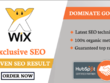 Do wix SEO for top google ranking
