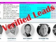 Collect 500 Head, VP, Director, Manager email database Leads