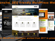 Do responsive SEO friendly wordpress website design