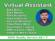 Be your virtual assistant for 1 hours