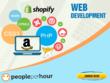 Build wordpress, shopify, ecommerce , wix  website development