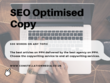 Write a unique, SEO-optimised article on any topic (500 words)