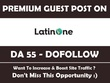 Guest Post on Latinone. Latinone.com - DA 55