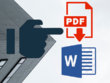 Convert, type, edit 20 pdf pages to MS Word/ Excel/ Powerpoint