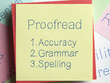 Proofread 2000 words document