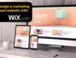 Design an intelligent  Wix Website with SEO and CRO