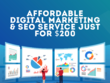 Affordable Digital Marketing & SEO Services