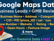 Scrape Google Maps (GMB) Data for Leads or Reviews in bulk, Fast