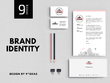 Bespoke branding pack - unique logo and stationery set