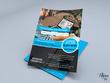Design eye-catching flyer, brochure, leaflet, poster, banner