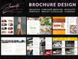 Design a professional and print ready brochure|catalogue|book
