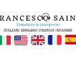 Translate into Italian from English, Spanish, French