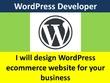 Design customtomized wordpress website