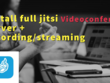Setup jitsi server plus recording and streaming on your vps