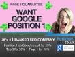 - 2020 SEO - Google Page 1 Guarantee - UKs #1 SEO Company