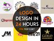 Design premium Logo + Unlimited Concepts & Revisions + Files 24h