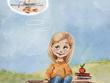 Create 10 illustrations for children's book