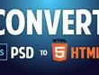 Convert psd to responsive HTML/CSS/JavaScript