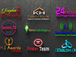 Logo design with unlimited revision and all source file