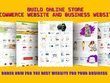 I will do develop online store eCommerce website