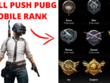 Push pubg mobile id rank to the conqueror fast
