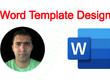 Design microsoft ms word document template