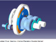 Design one stage industrial gearbox ( helical, planetary, bevel)