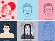 Illustrate a Custom Portrait/Caricature