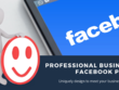 Create a professional Facebook Business Page