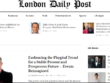Publish your Article on Google news site londondailypost.com