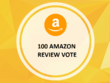 Amazon Helpful click (Vote) From High Authority Account