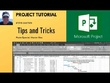 Deliver a training course for one person in Microsoft Project